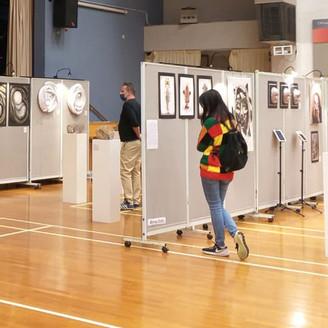 CSS Visual Arts Exhibition Showcases Students' Artwork 啓思中學視覺藝術展 展示中六生藝術作品
