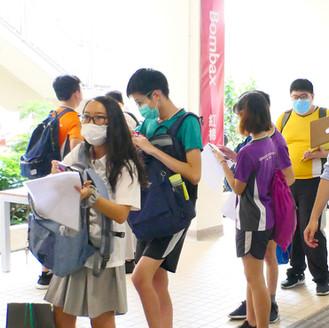 CSS Campus Reopens 啓思中學復課