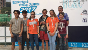 CSS students achieve great success in interschool sailing festival