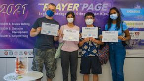 """""""From Player to Page"""" English writing competition"""