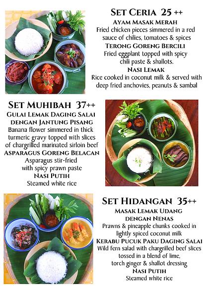 Bijan-Tiffin Lunch Menu 2 ceria muhibah