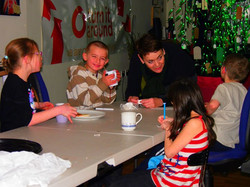 Tea time with reading group