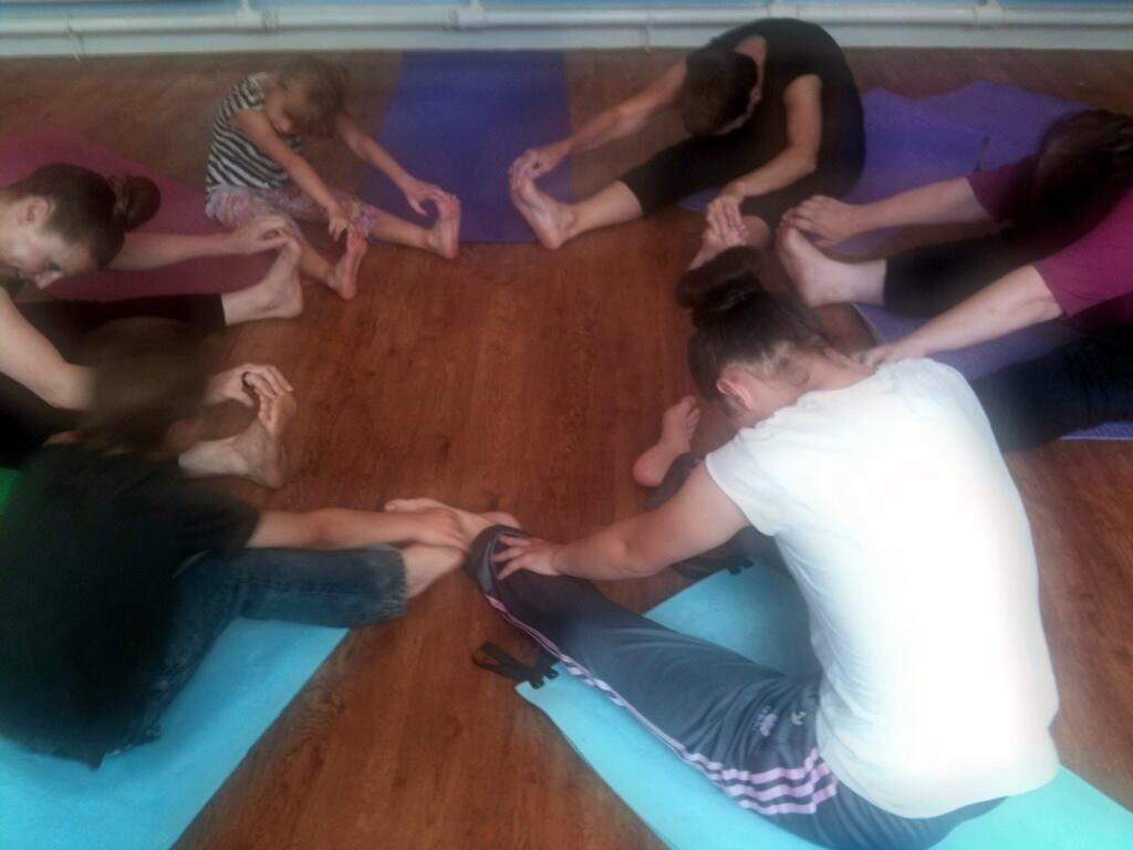 Introducing yoga to teens