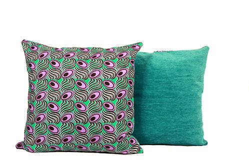 Peacock Purple+Green Reversible