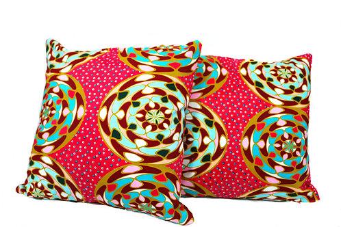Multicoloured Cushion Cover Set