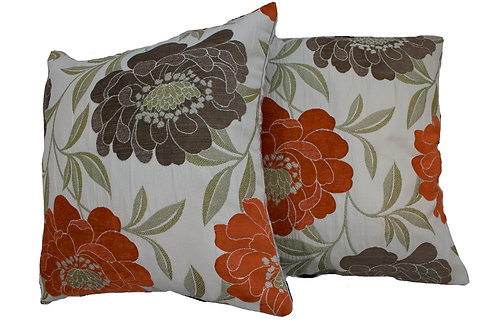 BloomLeaf Reversible Cushion Cover Set