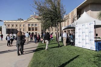 2020 Equality Arizona Lobby Day outside the AZ state capitol.