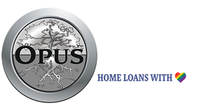 Opus Funding & Investments, LLC Home Loans with Heart logo