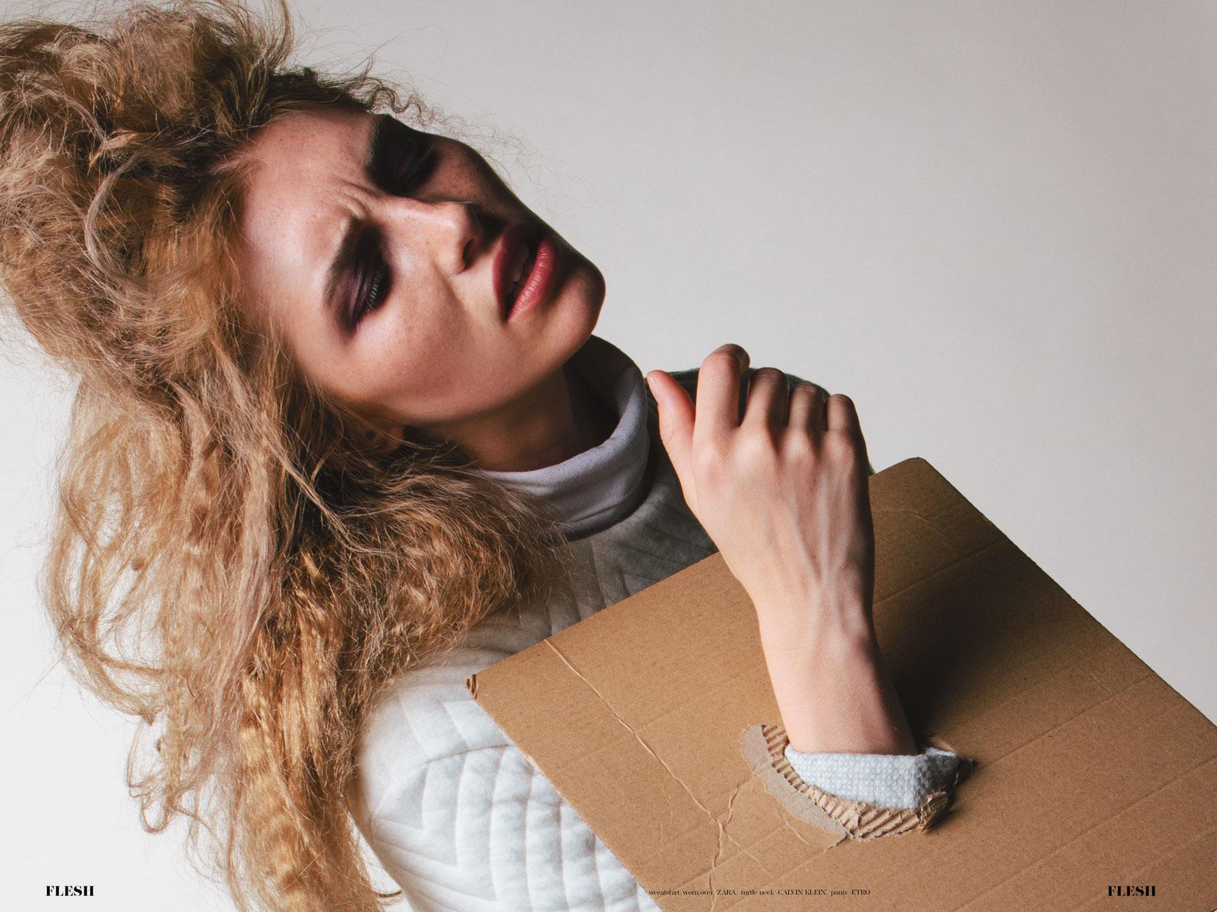 Hiding Behind Cardboard