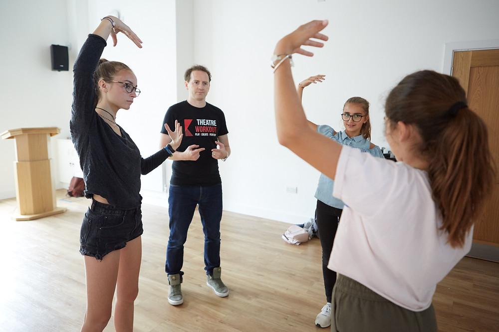 Outreach drama workshops