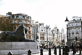 Trafalgar Square Lions morning.jpg