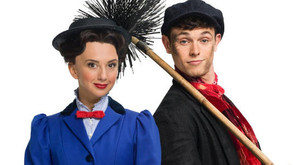 Mary Poppins blows into the Prince Edward Theatre