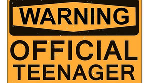 Warning: Official Teenager!