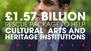£1.57 billion investment to protect Britain's world-class cultural, arts and heritage institutions