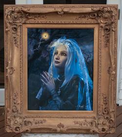 Light of Genius framed