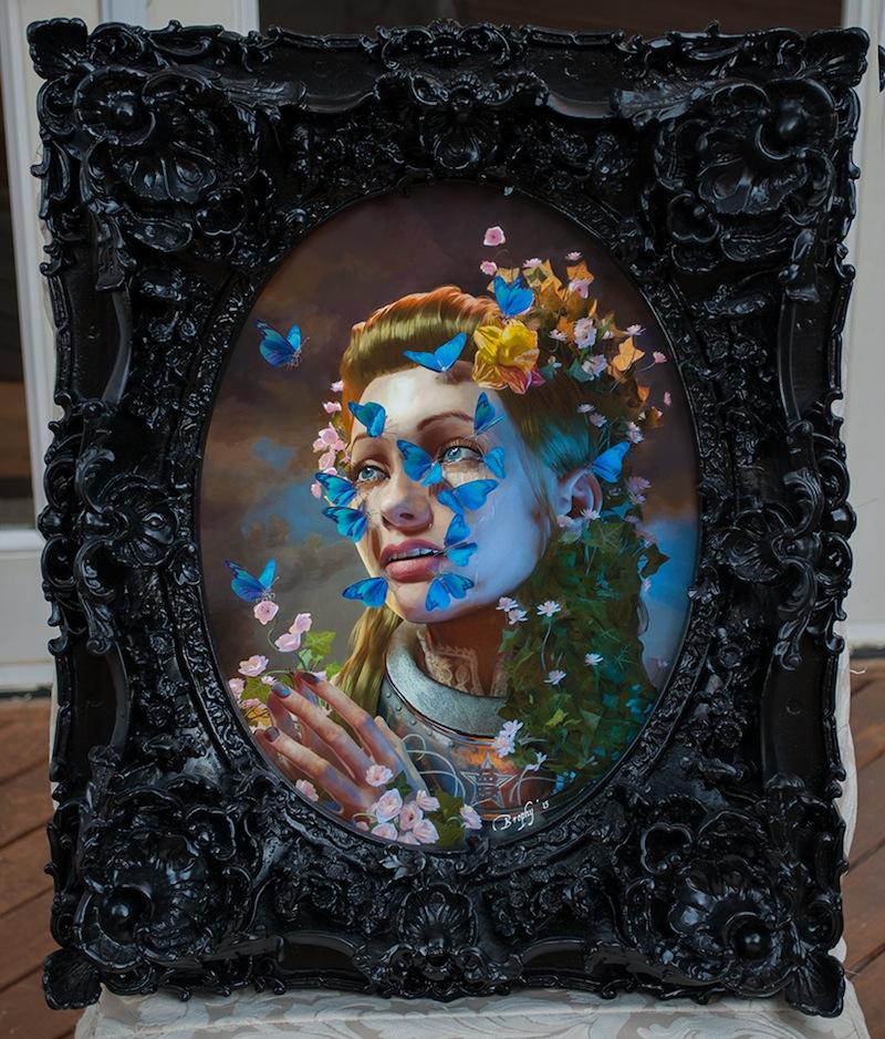 Oasis framed
