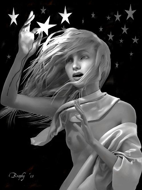 Falling Star print