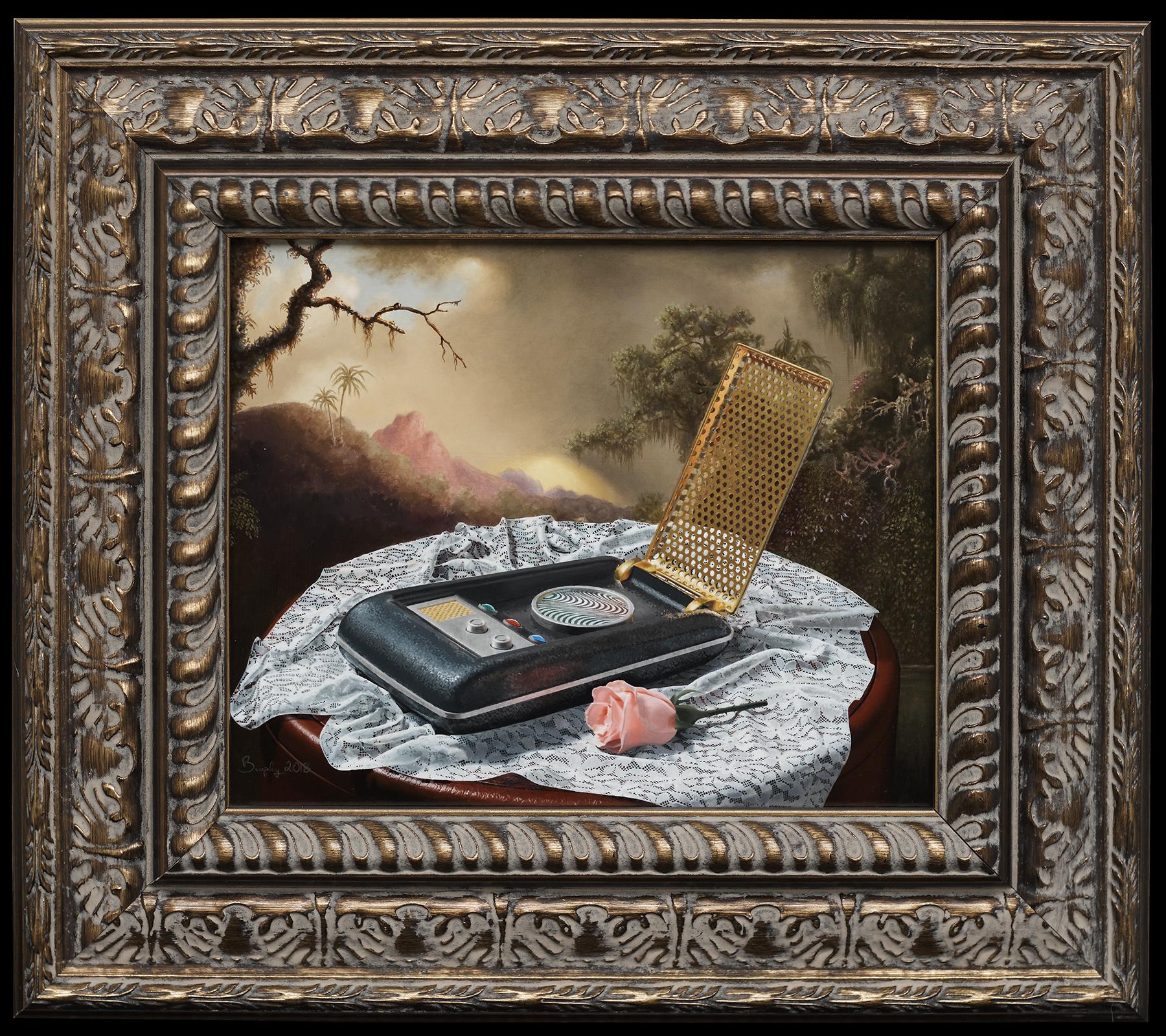 Landscape With Communicator framed