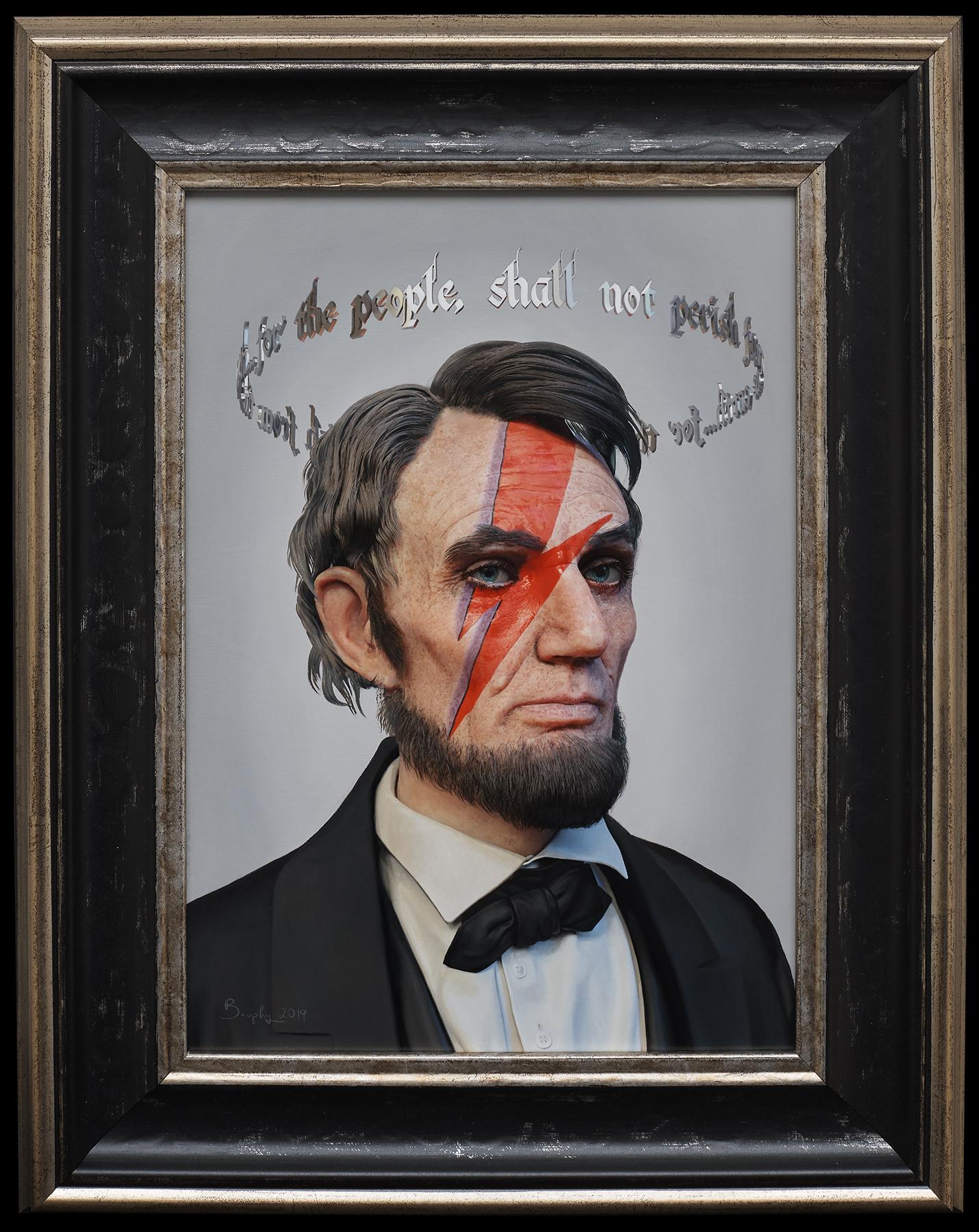 Ziggy Lincoln framed