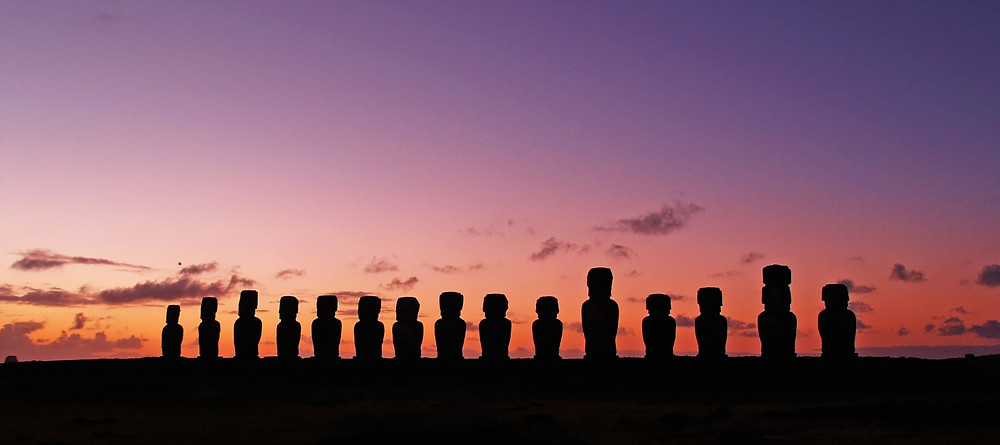 Stone Men of Easter Island