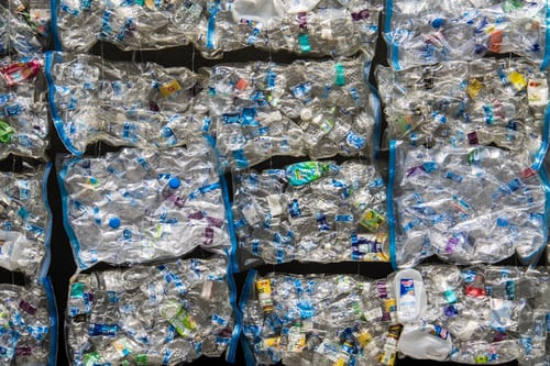 Plastic, Trash, Recyclables
