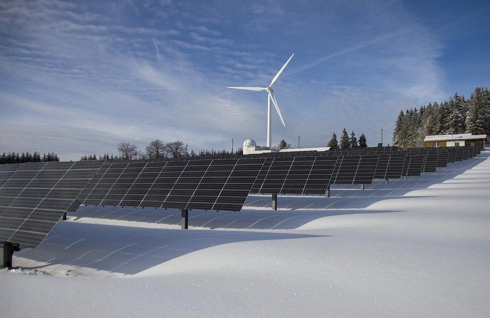 wind turbine and solar energy