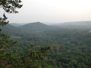 Photo of the Driftless area in Wisconsin