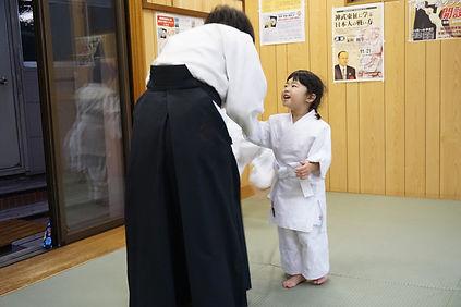 幼児のための合気道