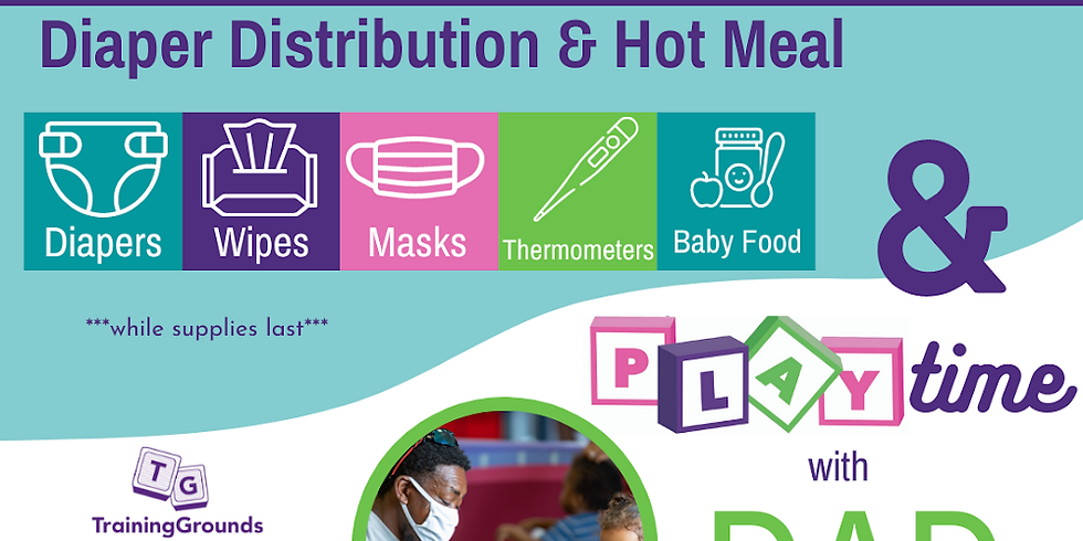 Diaper Distribution & Hot Meal