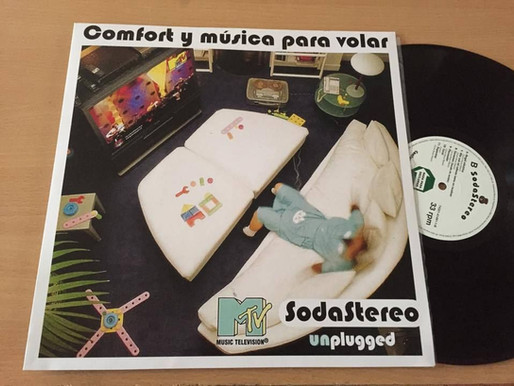 Legendario álbum de Soda Stereo ahora en vinilo