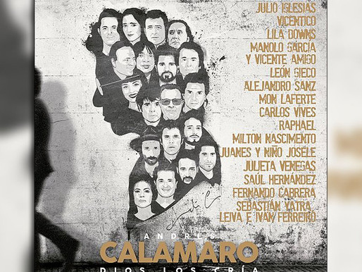 Andrés Calamaro estrena «Dios los cría», álbum de éxitos y legendarios artistas