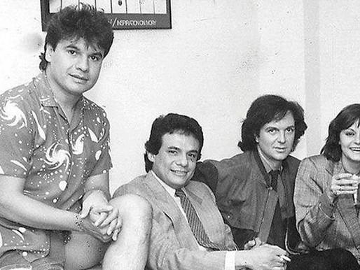 La foto viral de los grandes de la música hispana que ya nos dejaron