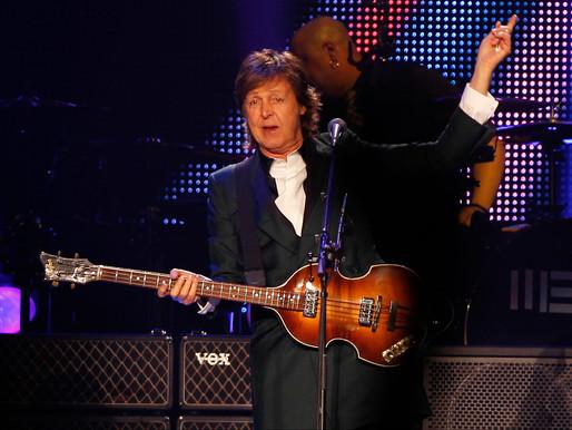 Paul McCartney en el Campo Argentino de Polo