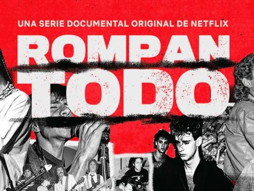 Se estrenó «Rompan Todo» el documental sobre la historia del rock en Latinoamérica