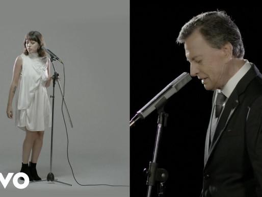 Palito Ortega presenta «Algo tonto» junto a su hija Rosario