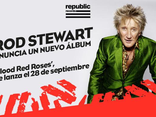 Rod Stewart anuncia nuevo álbum y presenta nuevo single