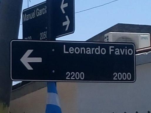 Leonardo Favio tiene una calle en la ciudad de Rosario