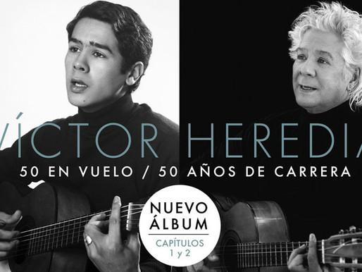 Víctor Heredia en Vinilo con 50 en vuelo