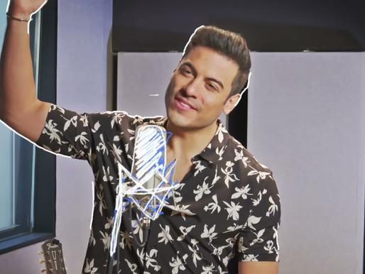 Carlos Rivera sorprende con el estreno de su álbum «Leyendas»