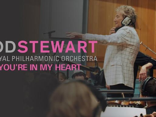 Rod Stewart festeja medio siglo de carrera con disco filarmónico