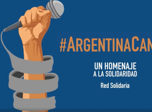 Argentina cantó en cuarentena