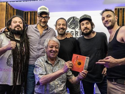 Donald y Bahiano juntos en «Scaba Badi Bidu», el primer reggae argentino
