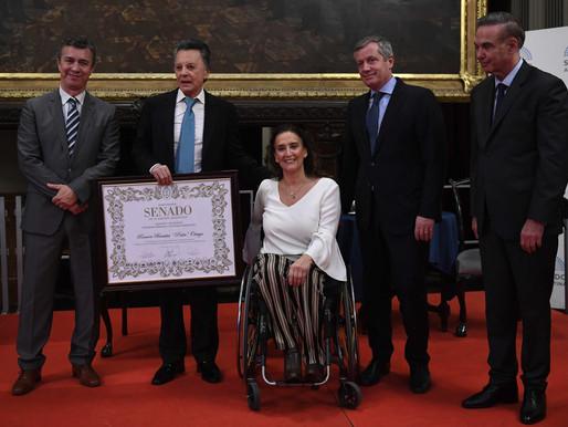 Palito Ortega recibió máxima distinción del Senado de la Nación Argentina