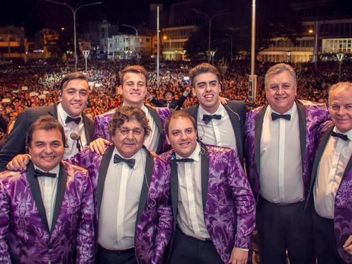 Los Palmeras se presentan por primera vez en el Luna Park