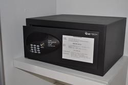 Free use of electronic safe