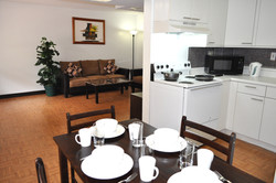Spacious 2 bedroom living and dining