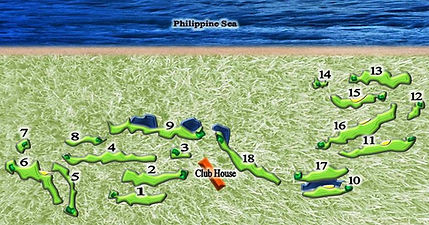 18 hole Golf course USGA authorized, Rota USA