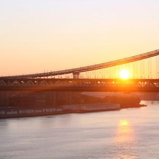 sunrise on brooklyn bridge Ariel Zukerman