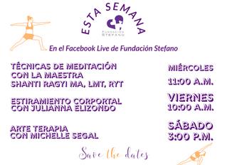 Fundación Stefano Continúa Ofreciendo Servicios Durante la Pandemia