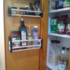 Monogrammed Spice Rack - Deep Shelf